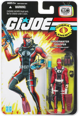 "GI Joe 3 3/4"" Cobra Diver Action Figure"