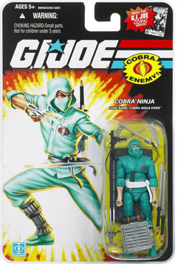 "GI Joe 3 3/4"" Cobra Ninja Viper Action Figure"