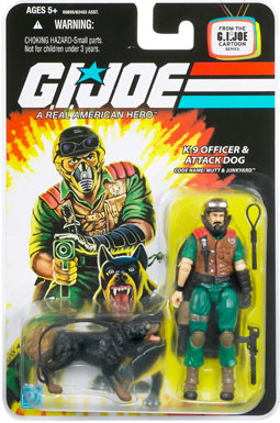 "GI Joe 3 3/4"" Mutt and Junkyard Action Figure"