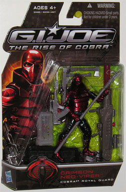 3 3/4 inch, GI Joe - The Rise of Cobra, Crimson Neo Viper action figure
