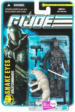 G.I. Joe Pursuit of Cobra: 3 3/4 inch Snake Eyes Action Figure